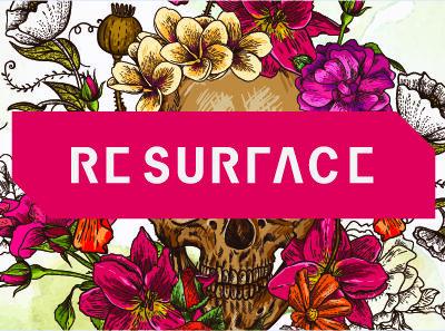 skull-floral-wallpaper