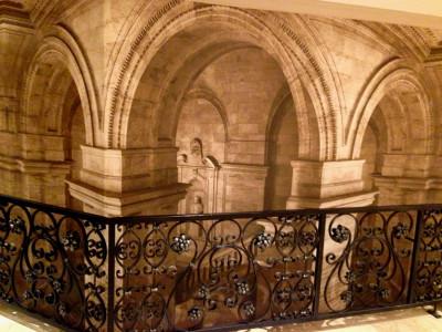 emperors palace digital wallpaper mural column design