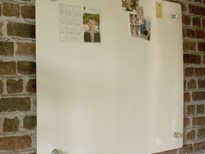 magnetic whiteboard on lugs