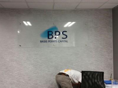 printed perspex signage
