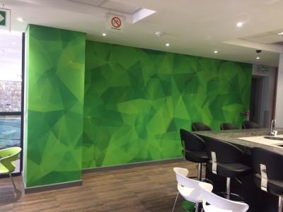Custom digital wallpaper
