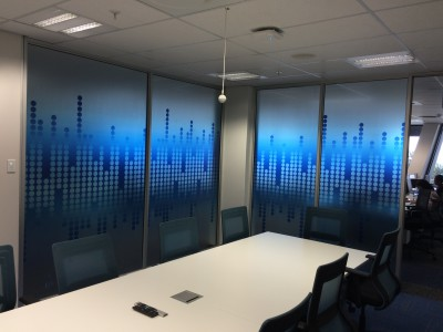office partition glass design