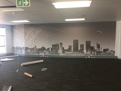 printed mural