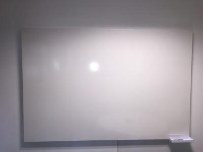 frameless office whiteboard