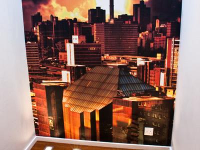 residential wallpaper print mural