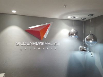 Signage Logo Gildenhuys Malatji Attorneys